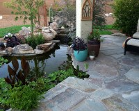 Tucson Koi Pond & Waterfall - KMAC Landscaping & Construction