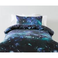 Galaxy Quilt Cover Set - Single Bed | Kmart