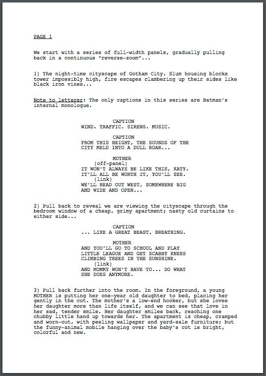 Free Scriptwriting Software - screenplay template