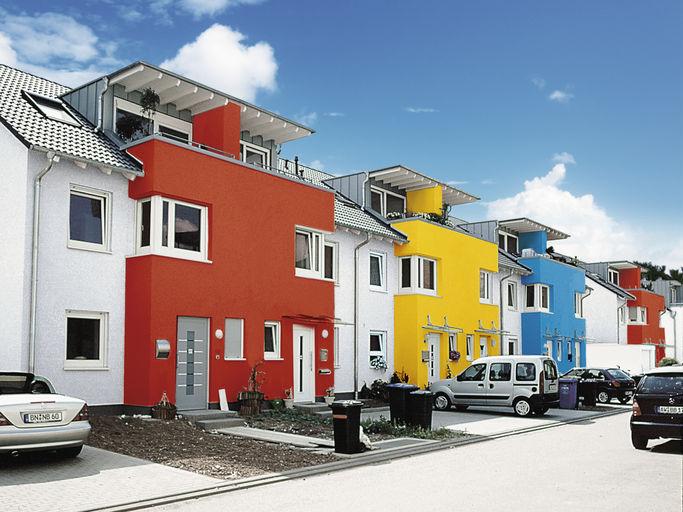 Knauf - Knauf Farbwelt - fassadenfarbe beispiele