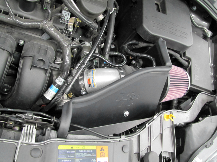 Add 9 HP to 2012 to 2016 Ford Focus with Simple to Install KN Air