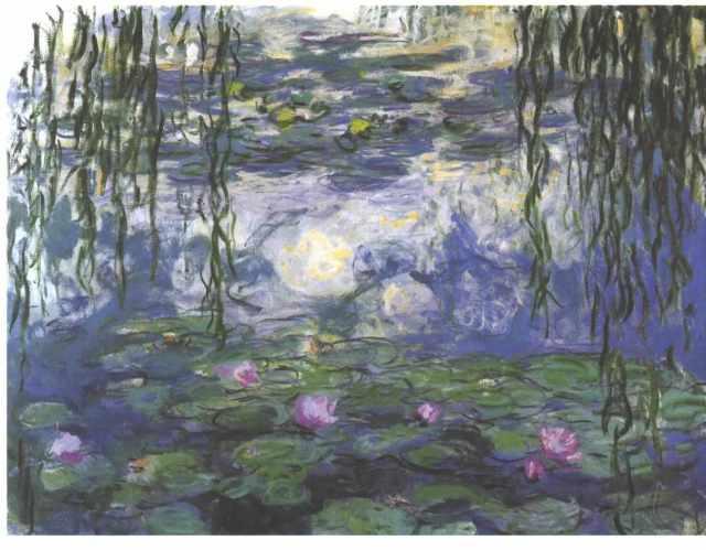 Claude Monet, Water Lilies