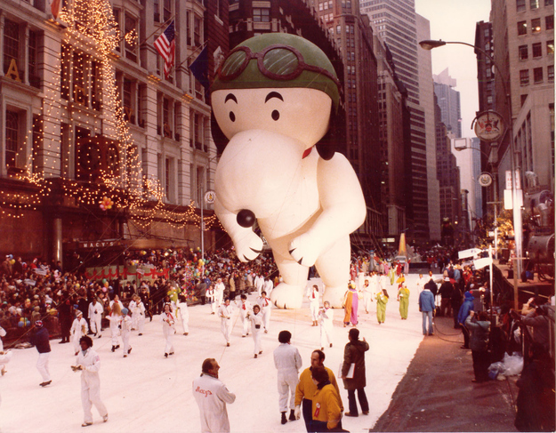 Perennial favorite Snoopy made his parade debut in 1968.