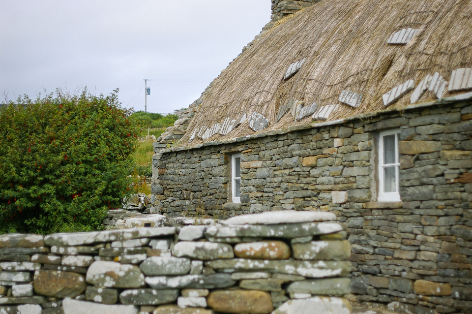 The Shetland Crofthouse Museum in Dunrossness