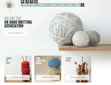 UK Hand Knitting Association new website