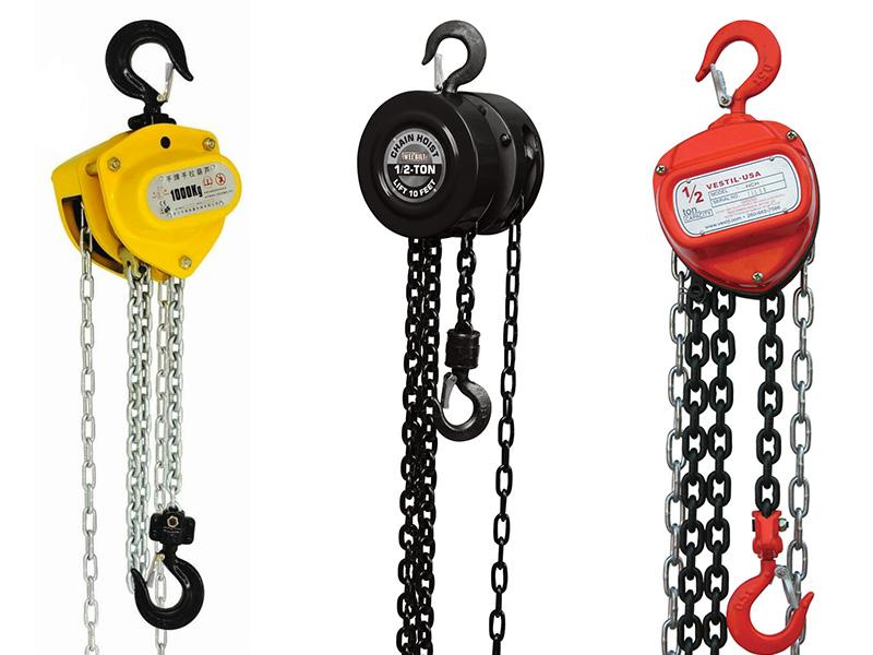 How a manual chain hoist works? KnockOutEngine