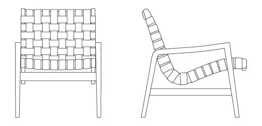 Risom Lounge Chair Knoll