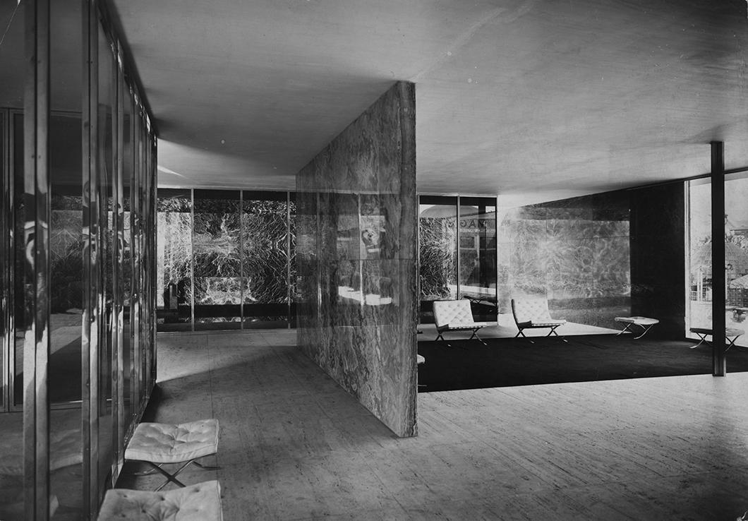 The barcelona chair ludwig mies van der rohe s barcelona pavilion