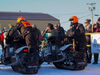 Race leaders arrive in Nome