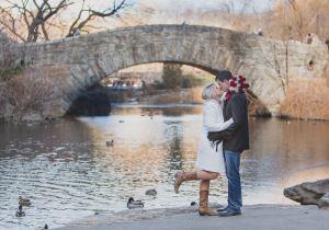 Wedding Kiss Gapstow Bridge