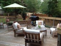 Outdoor Patio Makeover and DIY Outdoor Dining Table