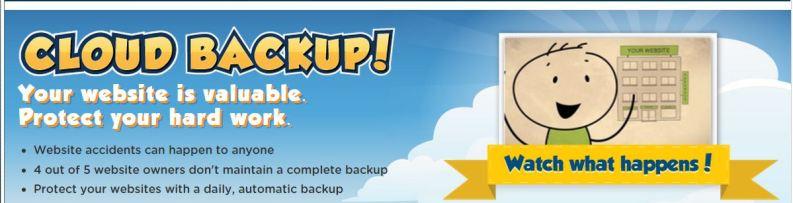 Hostgator Features List Overview Cloud Backup