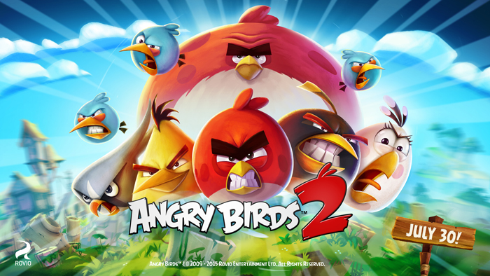 Top 10 Android Games of All Time Angry Birds 2