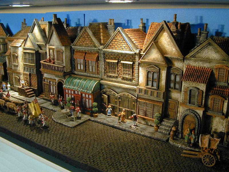 Ww2 Diorama Buildings Pictures To Pin On Pinterest Thepinsta