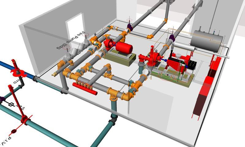 3D Modeling Fire Sprinkler Design Kobobel Fire Protection LLC