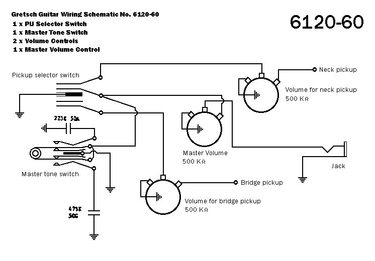wiring diagram for gretsch g5622t cb guitar