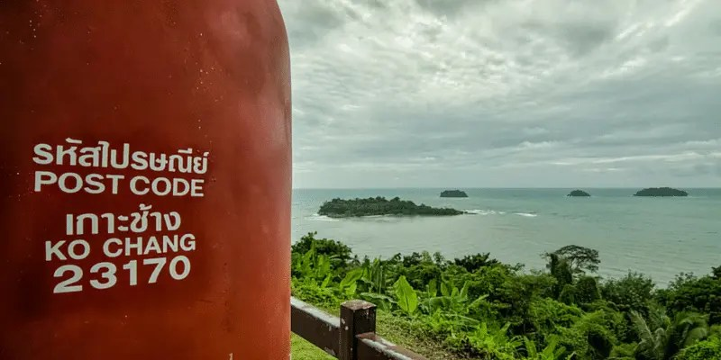 Kai Bae viewpoint is just one of the attractions on Ko Chang island
