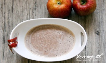 Maronen-Apfel-Suppe
