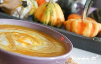 Kürbissuppe mit Kokosmilch fructosearm
