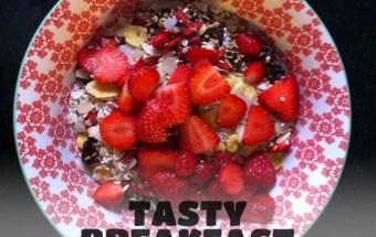 Vegan for fit Frühstück