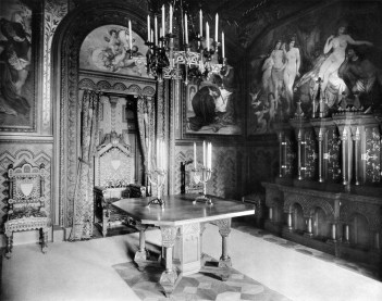 Arbeitszimmer (3) – Schloss Neuschwanstein, Königliche Wohnung