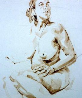 Nude Self 01| Acrylic on wooden panel | 70x50 cm | 650€