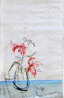 koetziervanhooff Flowers Sail Blue Chair