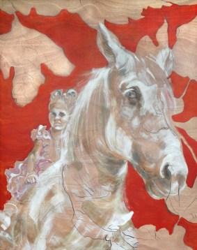 Fiesta Girl on horse