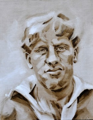 Harry Oort | Acrylic on linnen canvas| 70x80 (?) cm | 750€