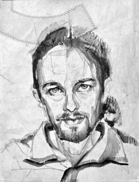 Pablo Iglesias |Acrylic on sailcloth | 30 x 42 cm |400€