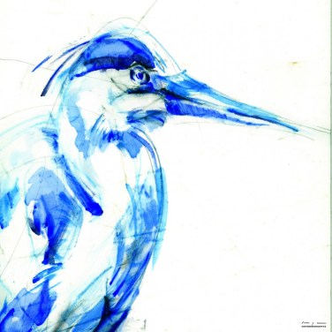 Blue Egret / Blauwe Reiter | Available in print in various sizes and material, please send email for information.