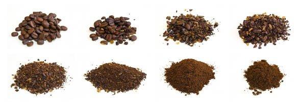 Verschillende Koffie Maling