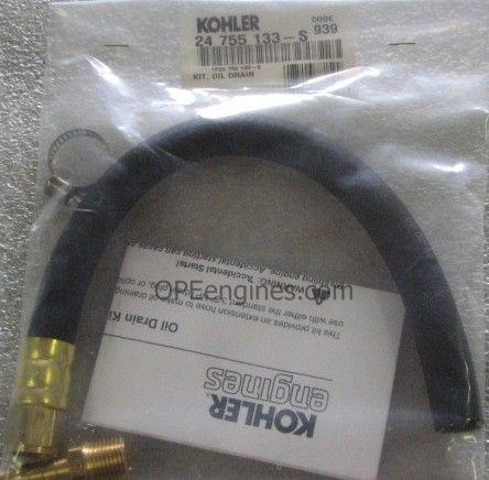 Kohler Part # 24755133S Oil Drain Kit - OPEengines