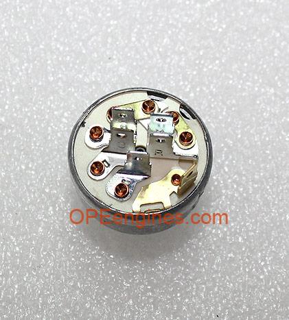 Kohler Part # 2509937S Ignition Key Switch Assembly (Aluminum
