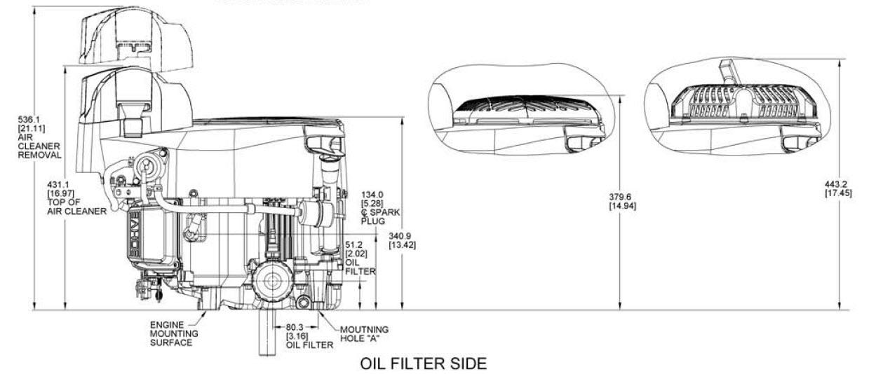 Kohler Engine ZT710-3019 Confidant 19 hp 725cc Exmark - OPEengines