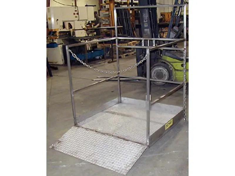 Forklift Man Baskets Meet All Osha Requirements