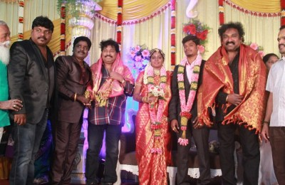 Gana Ulaganatham Daughter's Reception photos (18)