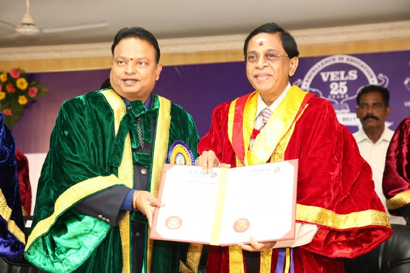 The Special Convocation of Vels University  (9)