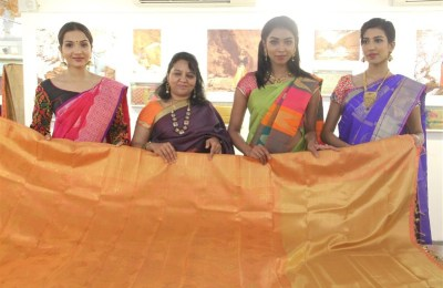 Photos of PALAM SILKS exhibition on Fabric of dreams & Fashion Show (14)