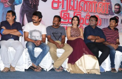 Saravanan Iruka Bayamen Success Meet Photos (23)