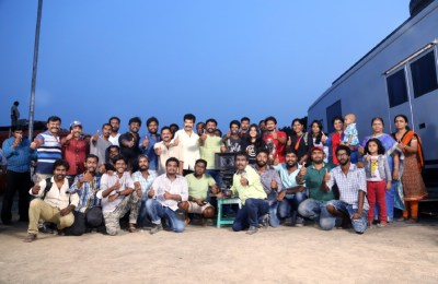 Udhayanidhi - Manjima Film Shooting Wrap Up Stills (8)