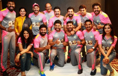 CCL Kerala Strikers Curtain Raiser (4)
