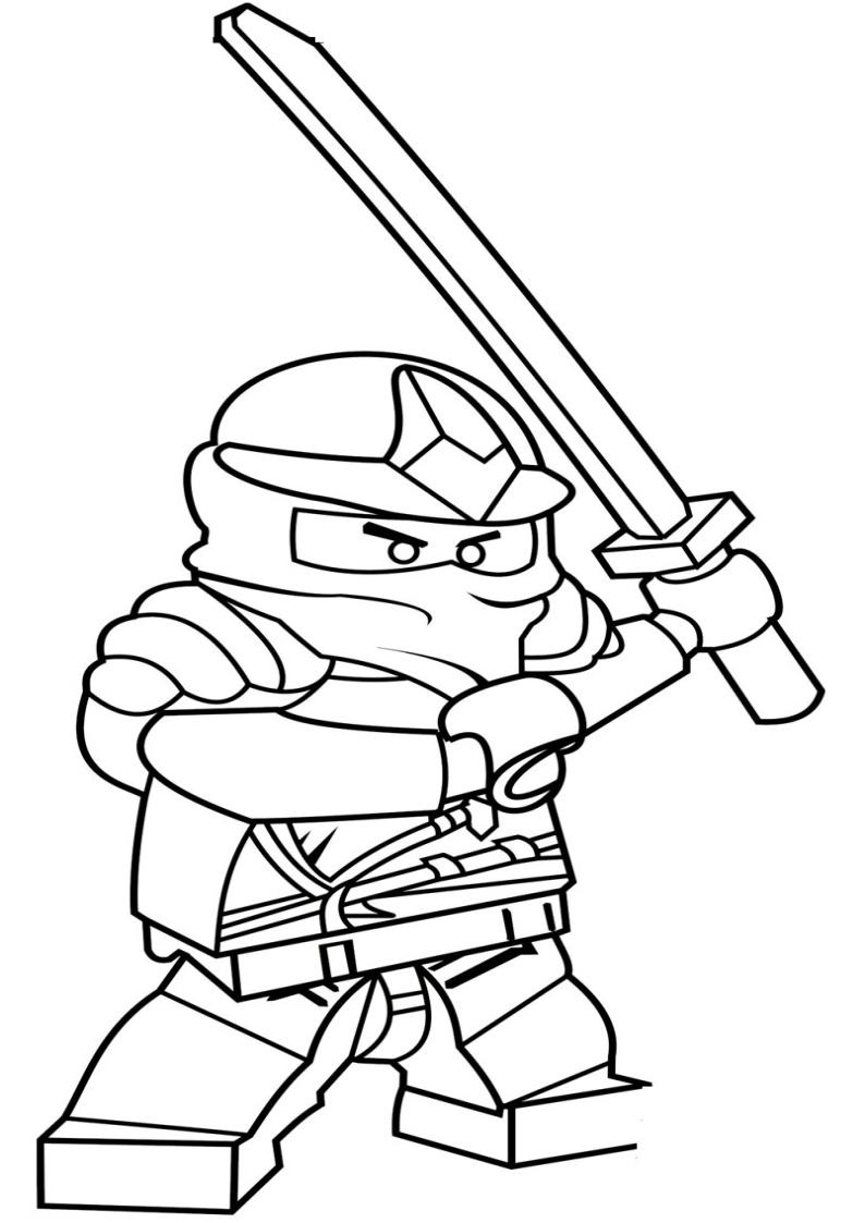 kolorowanka lego ninjago malowanka nr 16