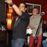El Gato Solea plays at Komoon Bonita's Grand Opening Party