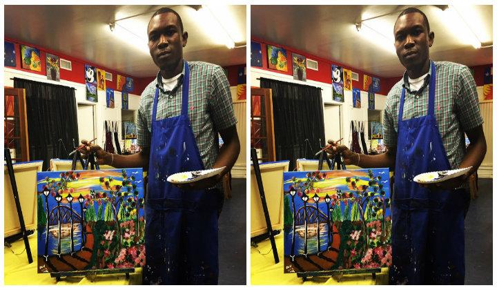 Olumide Oladipupo- Painter Extraordinaire, Touching Lives through Art.