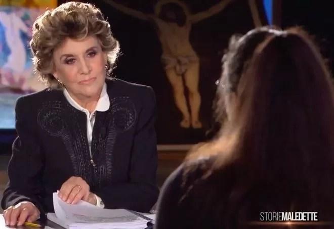 Storie Maledette Franca Leosini ancora con Sabrina Misseri e Cosima Serrano