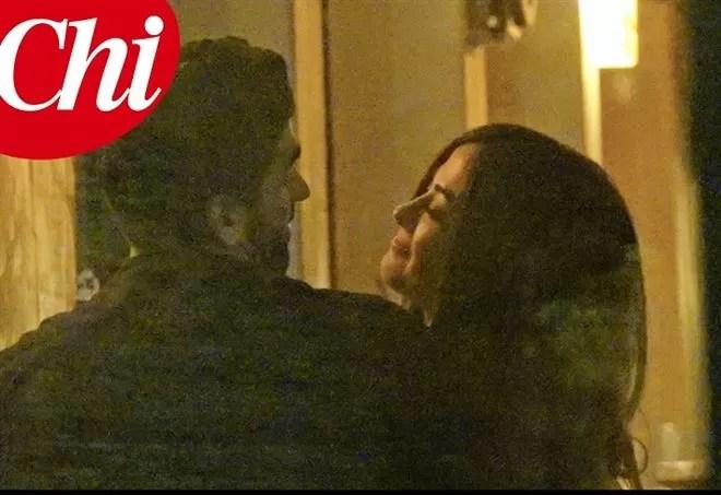 Filippo Magnini e Giorgia Palmas: la foto del primo bacio su Chi