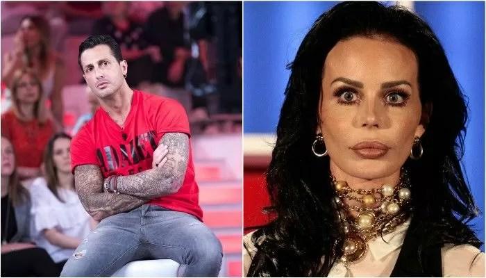 Fabrizio Corona contro Nina Moric: