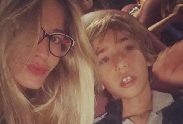 Elena Santarelli giosce per un bimbo guarito: