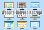 website-refresh-konzept
